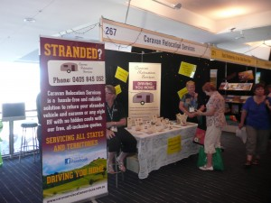 Our Stand 267 at the RACV Caravan Show